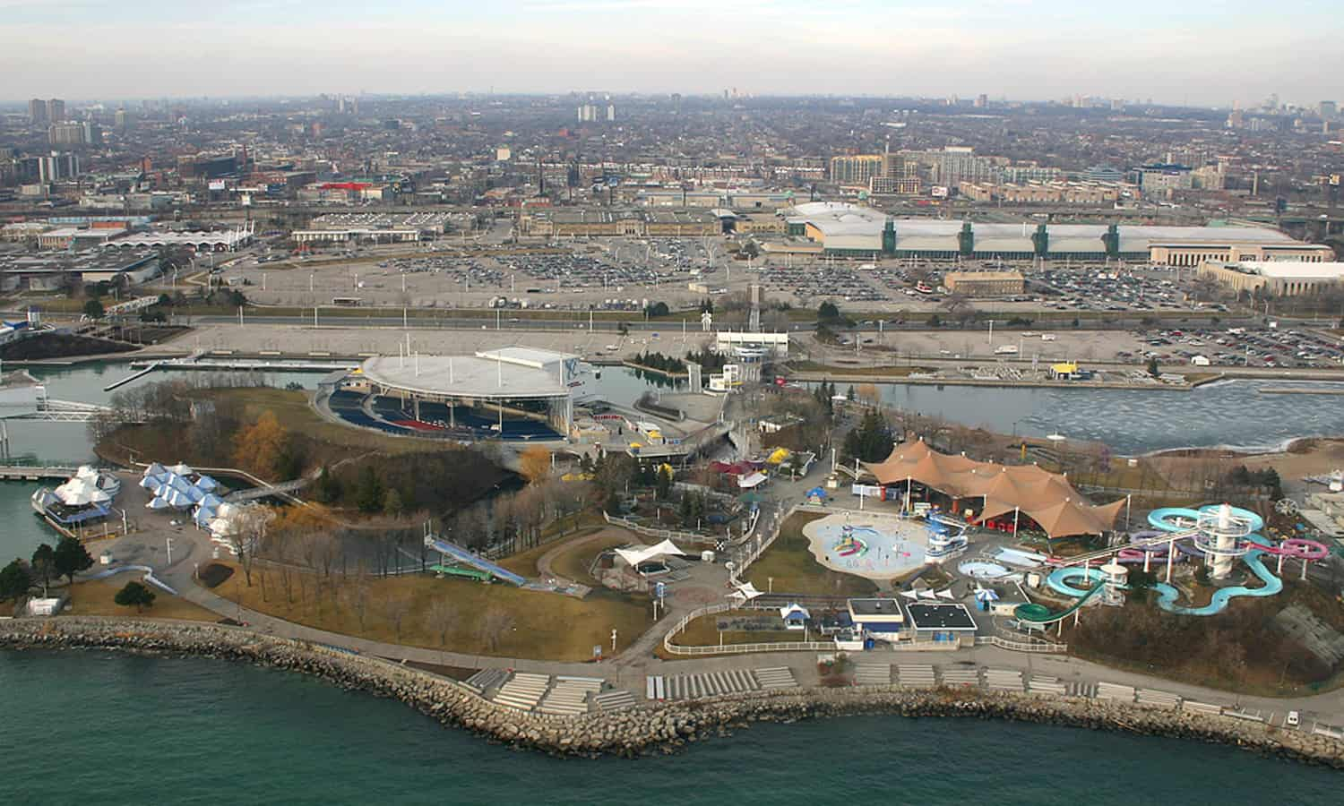 Molson Amphitheatre and Ontario Place waterpark - Wikipedia