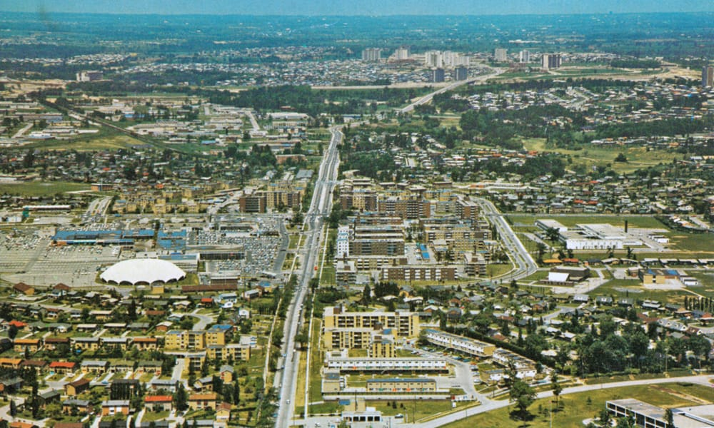 Aerial View of Don Mills 1968 - Toronto Modern