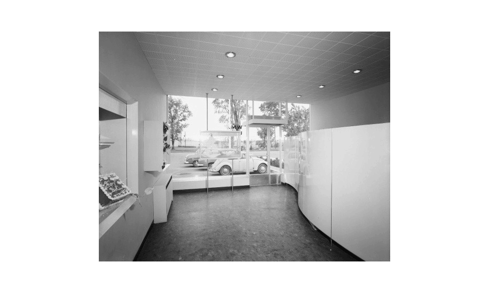 Don Mills Convenience Centre interior, 1955 - Panda Archives