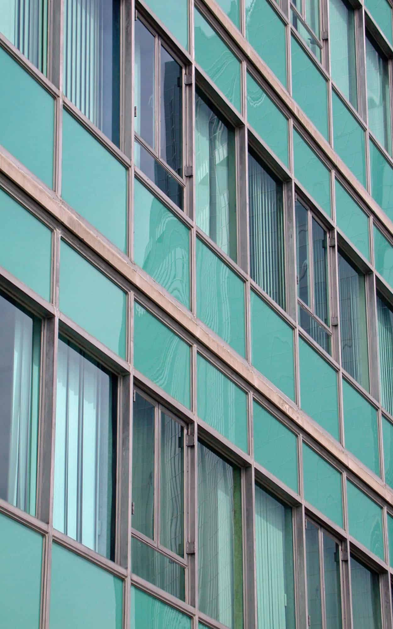 Detail of the curtainwall