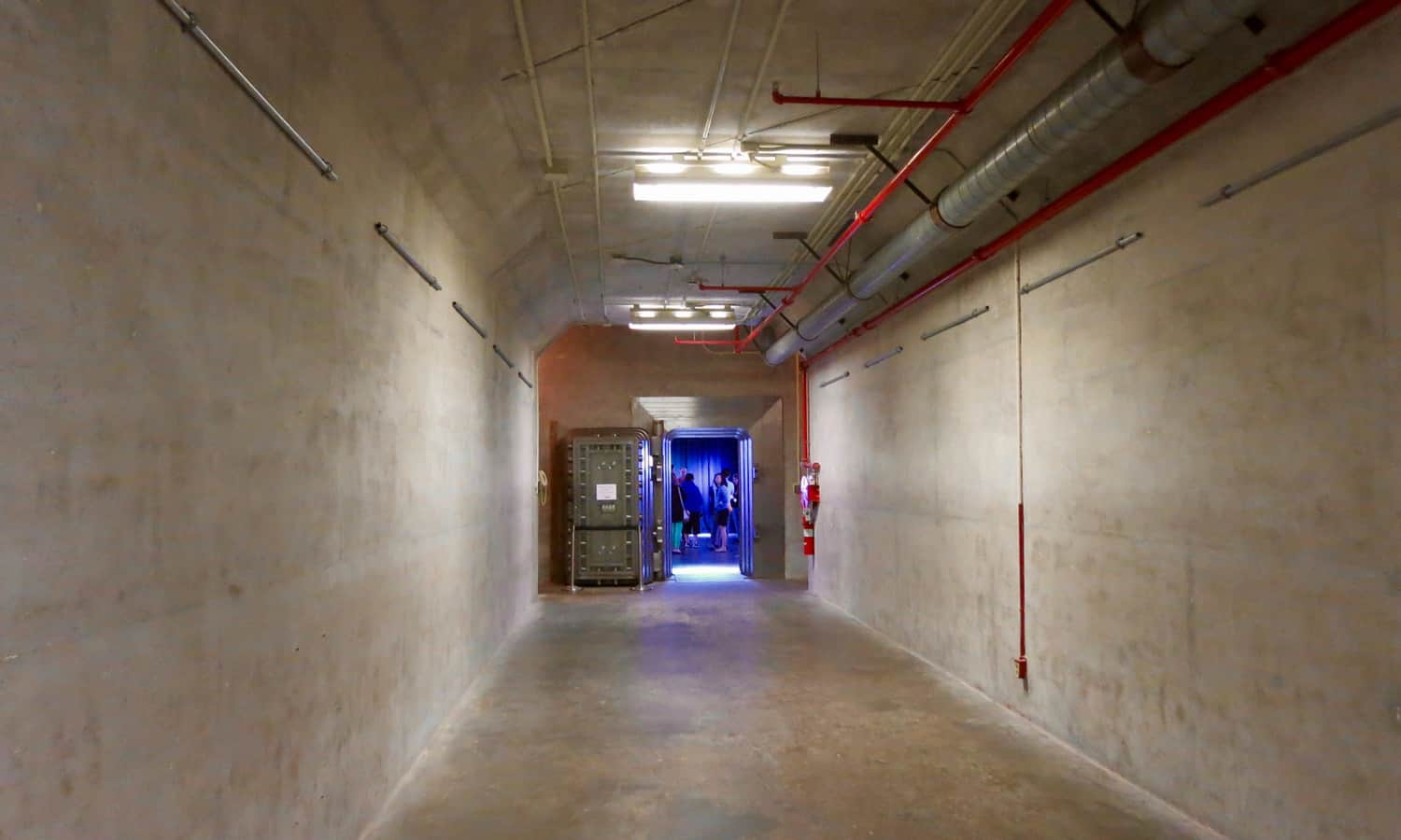Approach to Bank of Canada vault